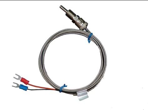 压簧固定式热电偶